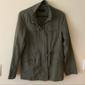 MAX Jeans - Army Green - Utility Military Jacket S